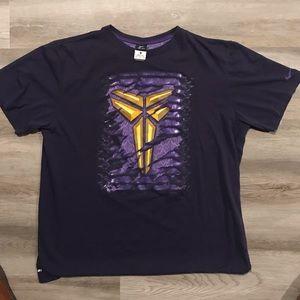 Kobe Bryant Nike dri fit t-shirt